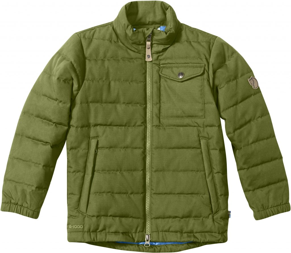 FjallRaven Kids Ovik Lite Jacket Avocado-30