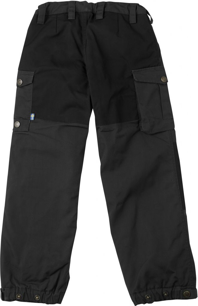 FjallRaven Kid's Vidda Padded Trousers Dark Grey-30