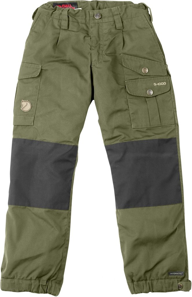 FjallRaven Kid's Vidda Padded Trousers Green-30