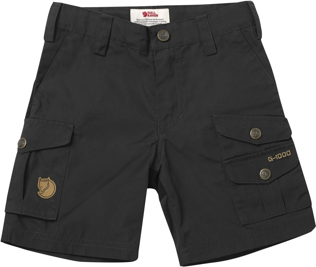 FjallRaven - Kids Vidda Shorts Dark Grey - Pants -