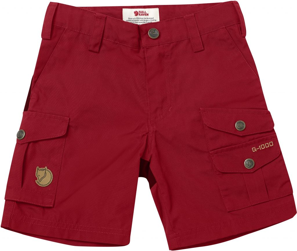 FjallRaven Kids Vidda Shorts Deep Red-30