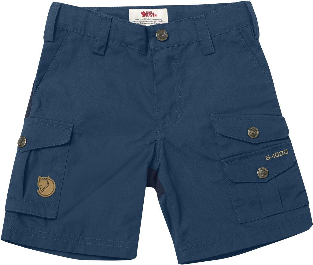 FjallRaven Kids Vidda Shorts Uncle Blue-30