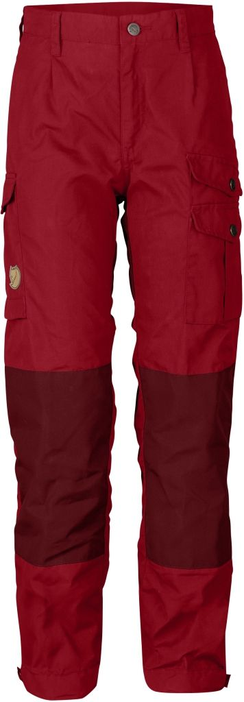 FjallRaven Kid's Vidda Trousers Deep Red-30