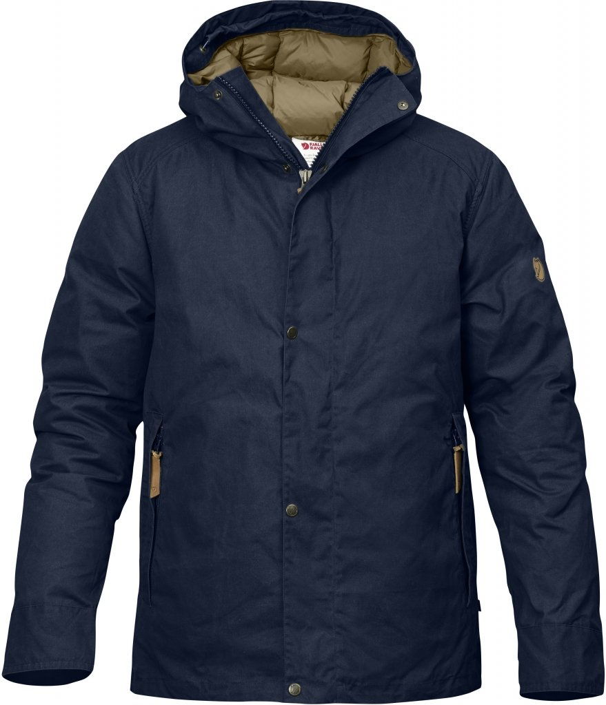FjallRaven Kiruna Down Jacket Dark Navy-30