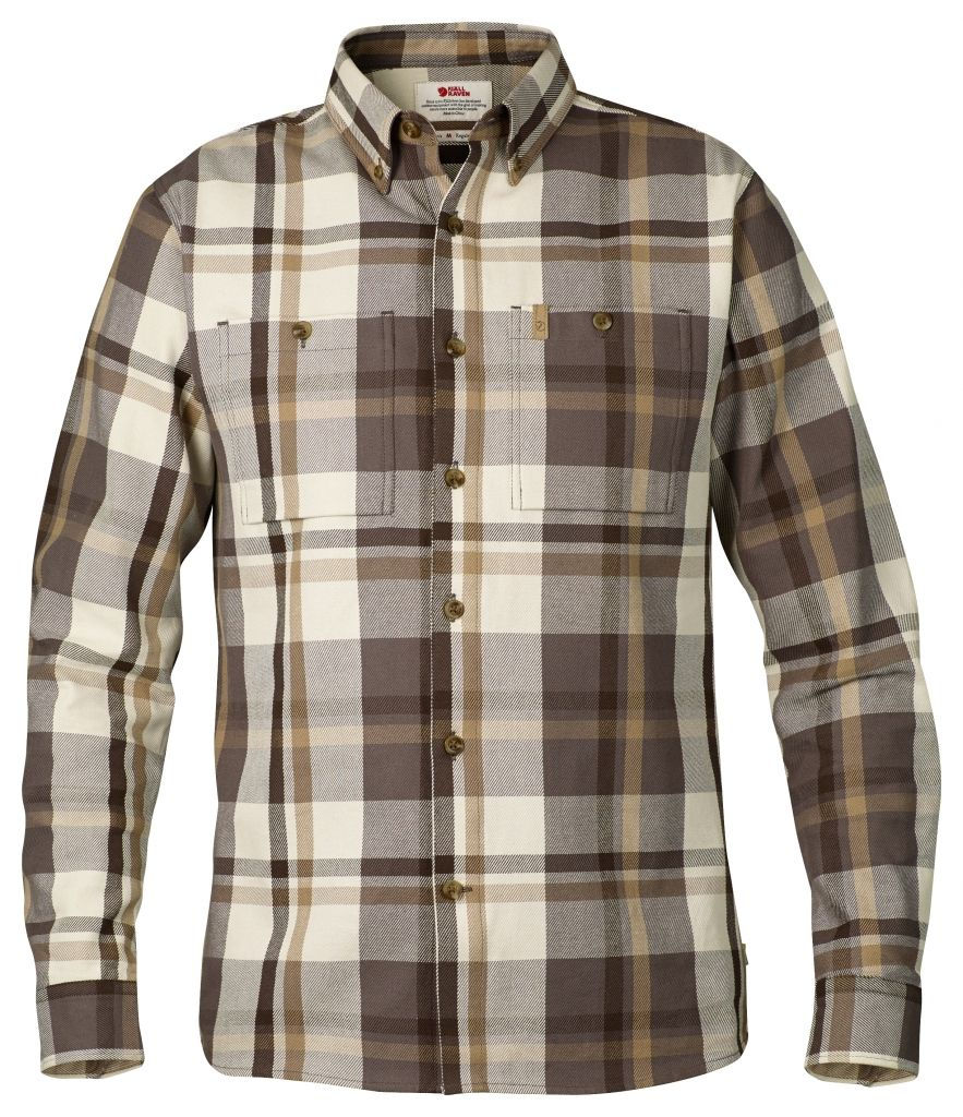 FjallRaven Kiruna Heavy Twill Shirt LS Ecru-30