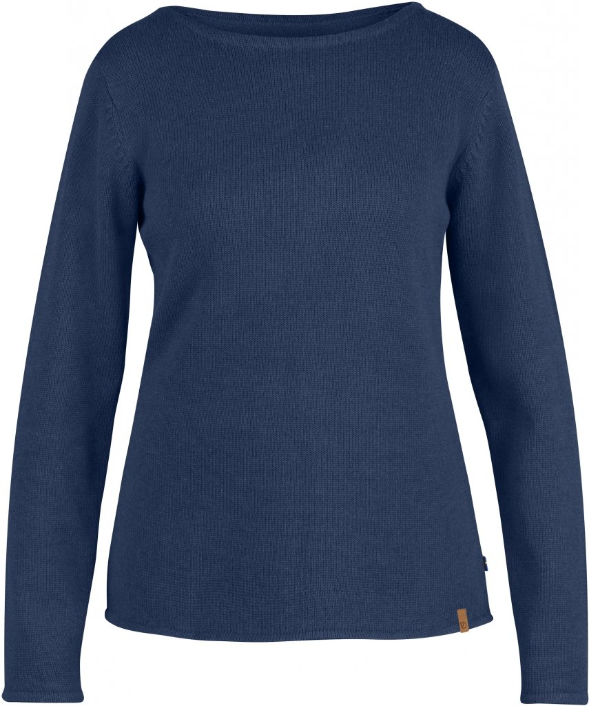 FjallRaven Kiruna Knit Sweater W. Blueberry-30