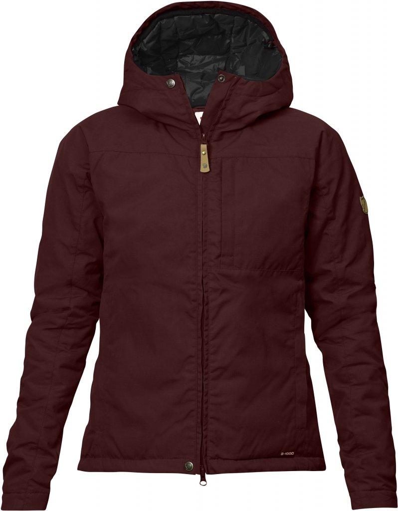 FjallRaven Kiruna Loft Jacket W Burnt Red-30