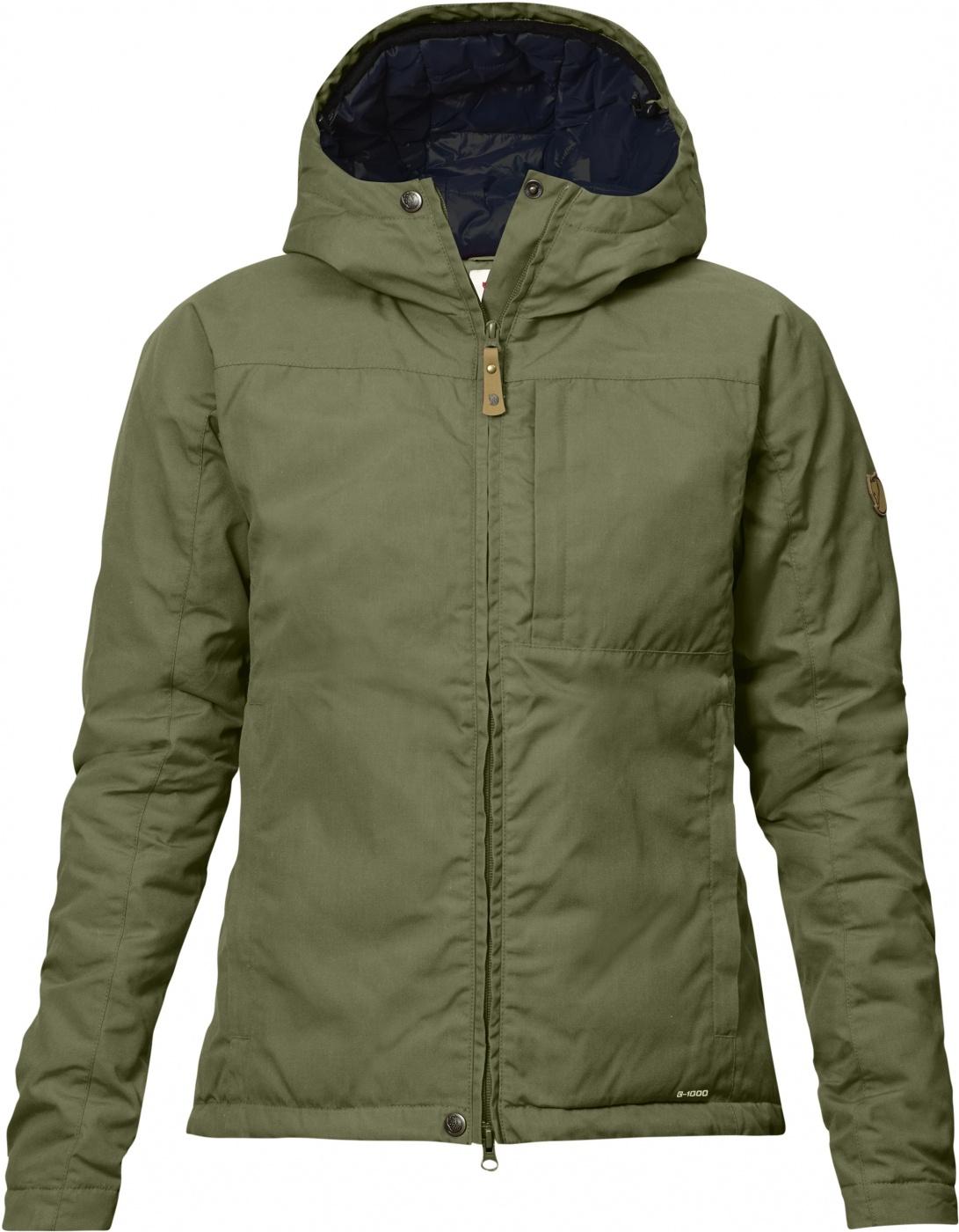 FjallRaven Kiruna Padded Jacket W Green-30