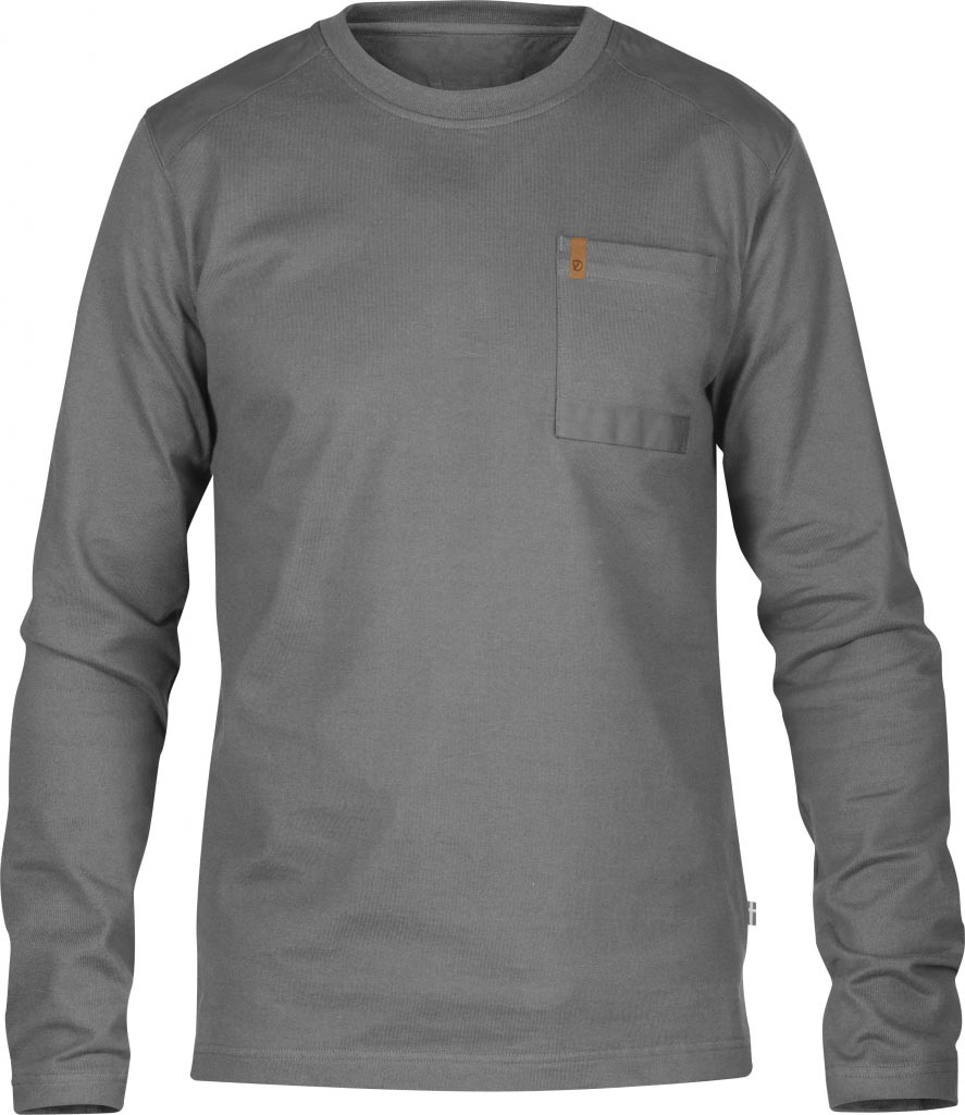 FjallRaven Kiruna Pocket Sweater Grey-30