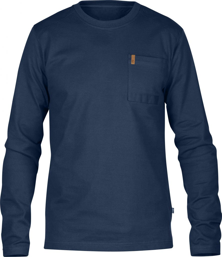 FjallRaven Kiruna Pocket Sweater Ink Blue-30