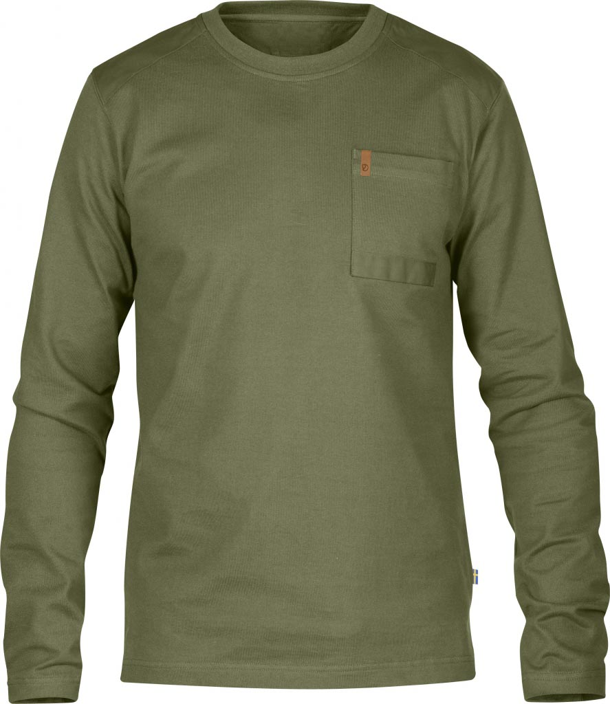 FjallRaven Kiruna Pocket Sweater Green-30