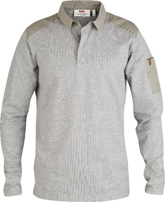 FjallRaven Kiruna Rugby Sweater Grey-30