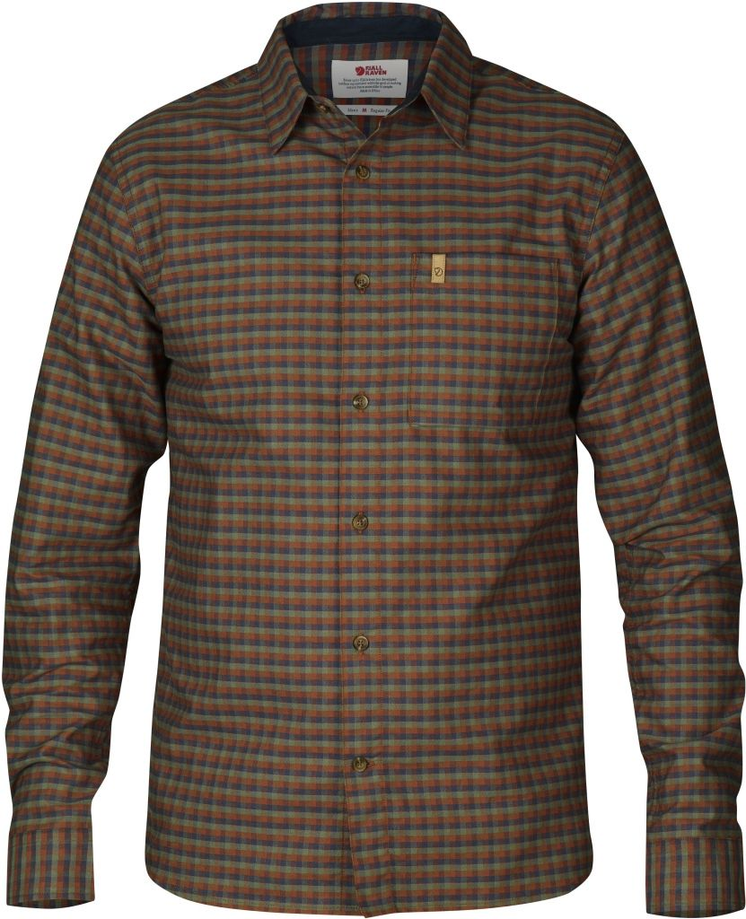 FjallRaven Kiruna Shirt LS Autumn Leaf-30