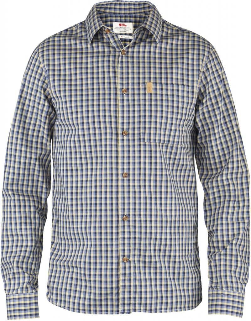 FjallRaven Kiruna Shirt LS Dove Blue-30