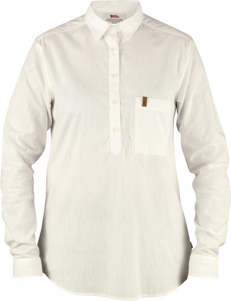 FjallRaven - Kiruna Shirt LS W. Ecru - Shirts - XL