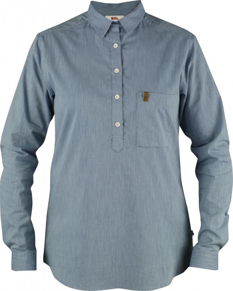 FjallRaven Kiruna Shirt LS W. UN Blue-30