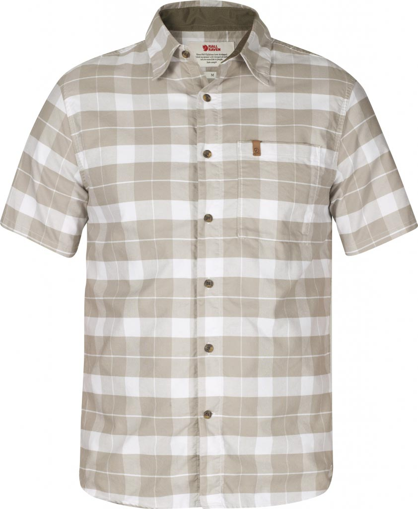 FjallRaven Kiruna Shirt SS Fog-30