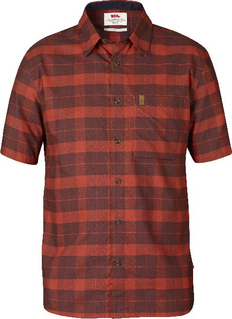 FjallRaven Kiruna Shirt SS Deep Red-30