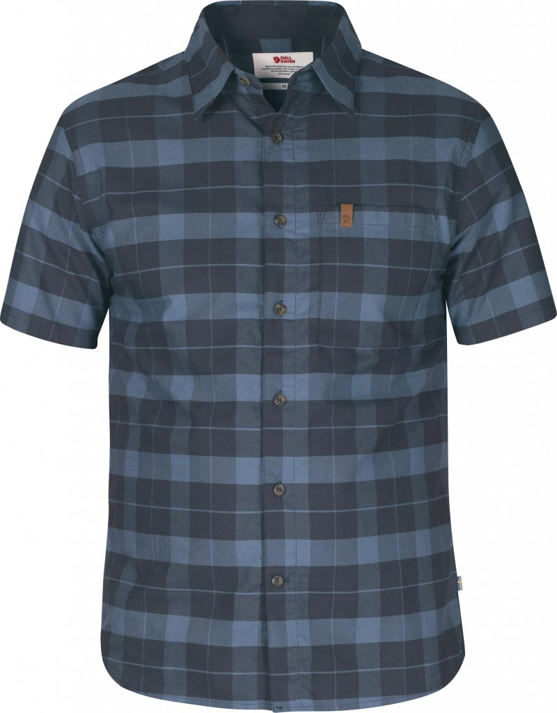FjallRaven Kiruna Shirt SS Dark Navy-30
