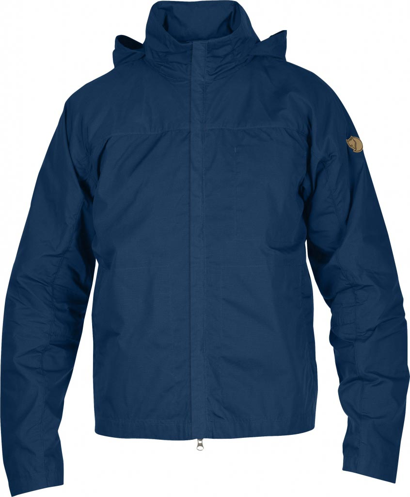 FjallRaven Kiruna Short Jacket Ink Blue-30
