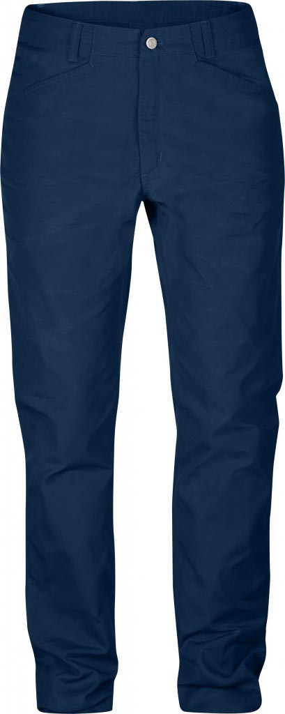 FjallRaven Kiruna Trousers W. Ink Blue-30