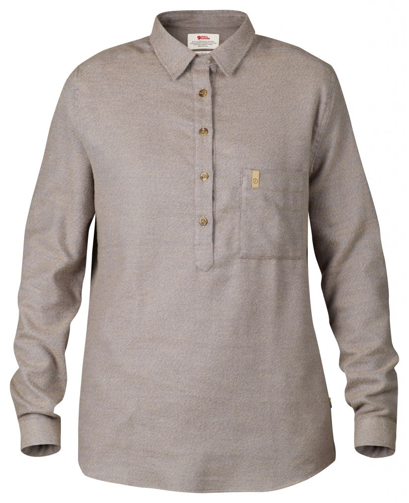 FjallRaven Kiruna Winter Shirt LS W. Uncle Blue-30