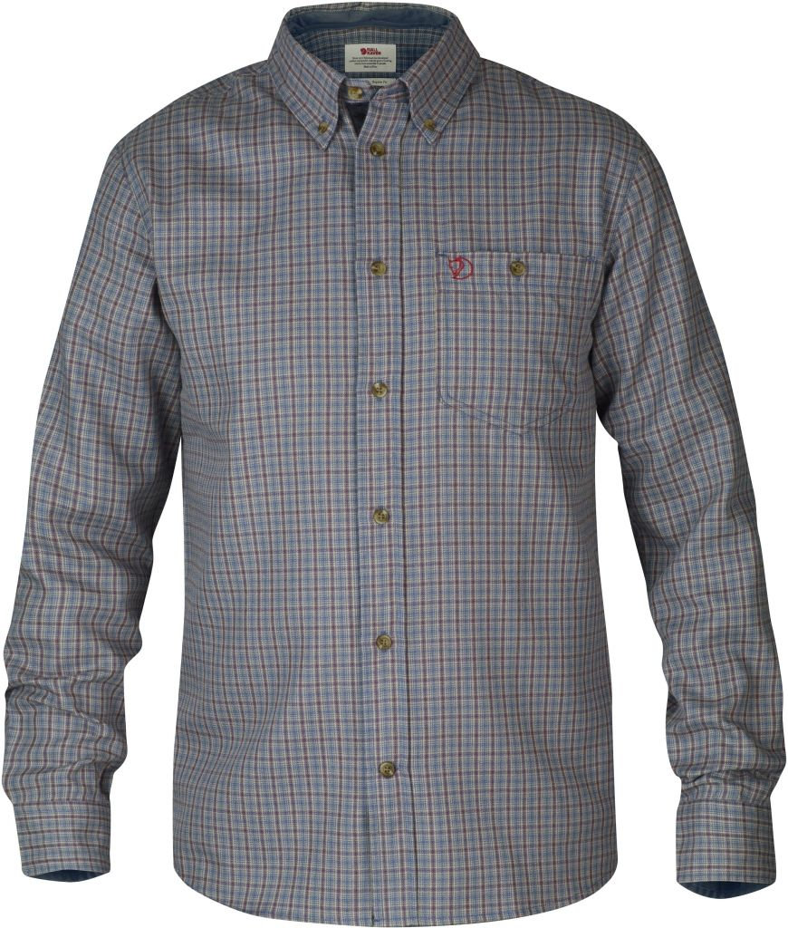 FjallRaven Kvarts Shirt Uncle Blue-30
