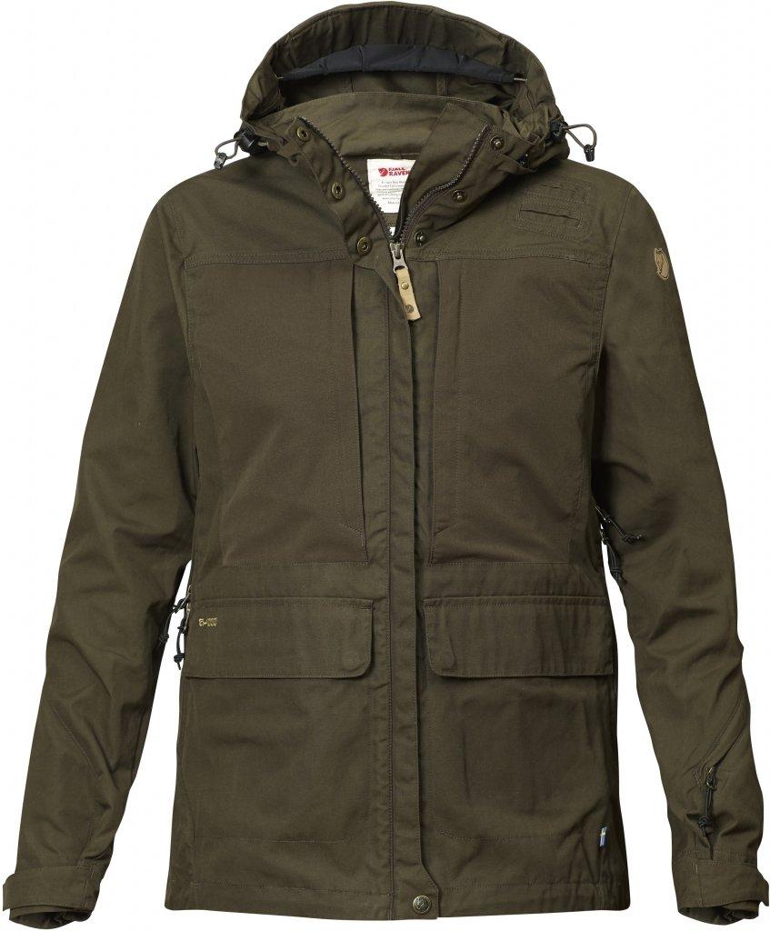FjallRaven Lappland Hybrid Jacket W Dark Olive-30