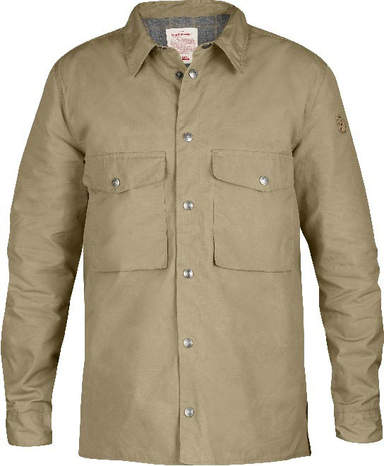 FjallRaven Lined Shirt No. 1 Sand-30