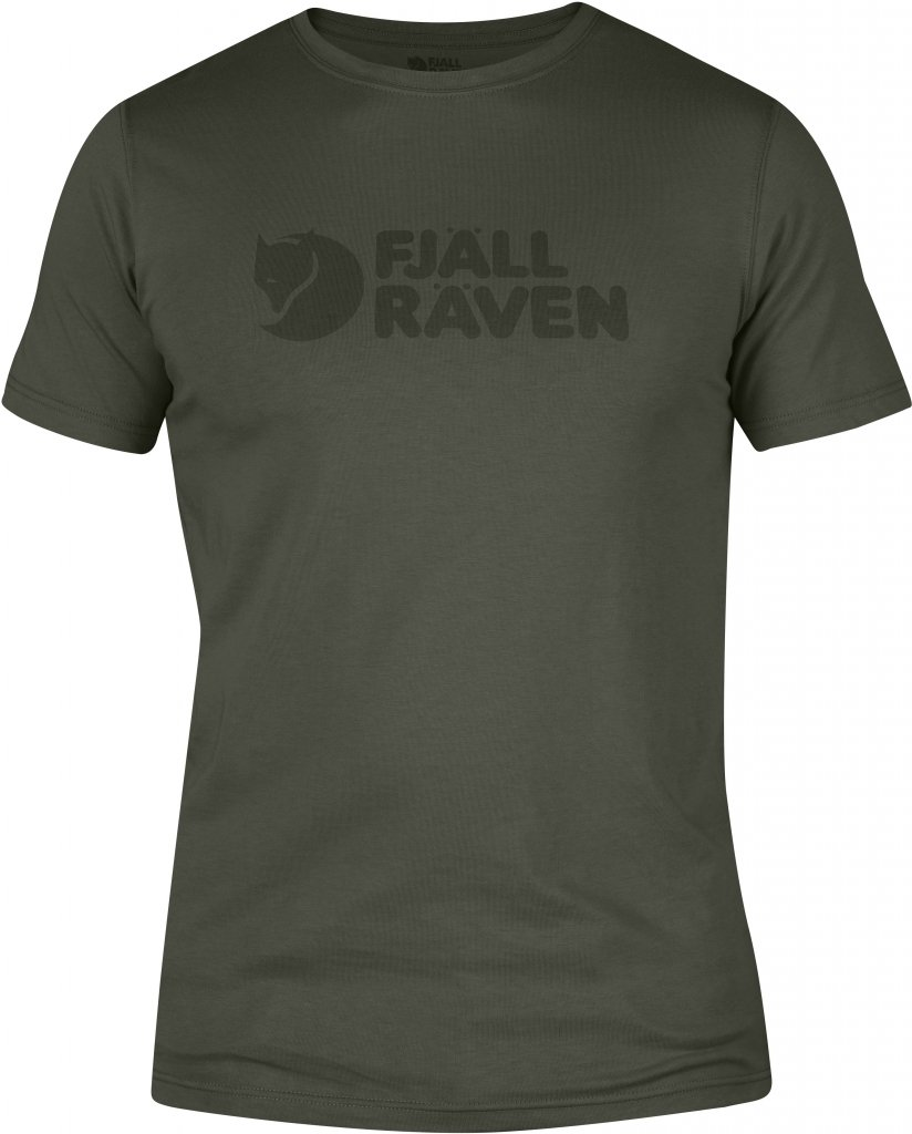 FjallRaven Logo T-shirt Mountain Grey-30