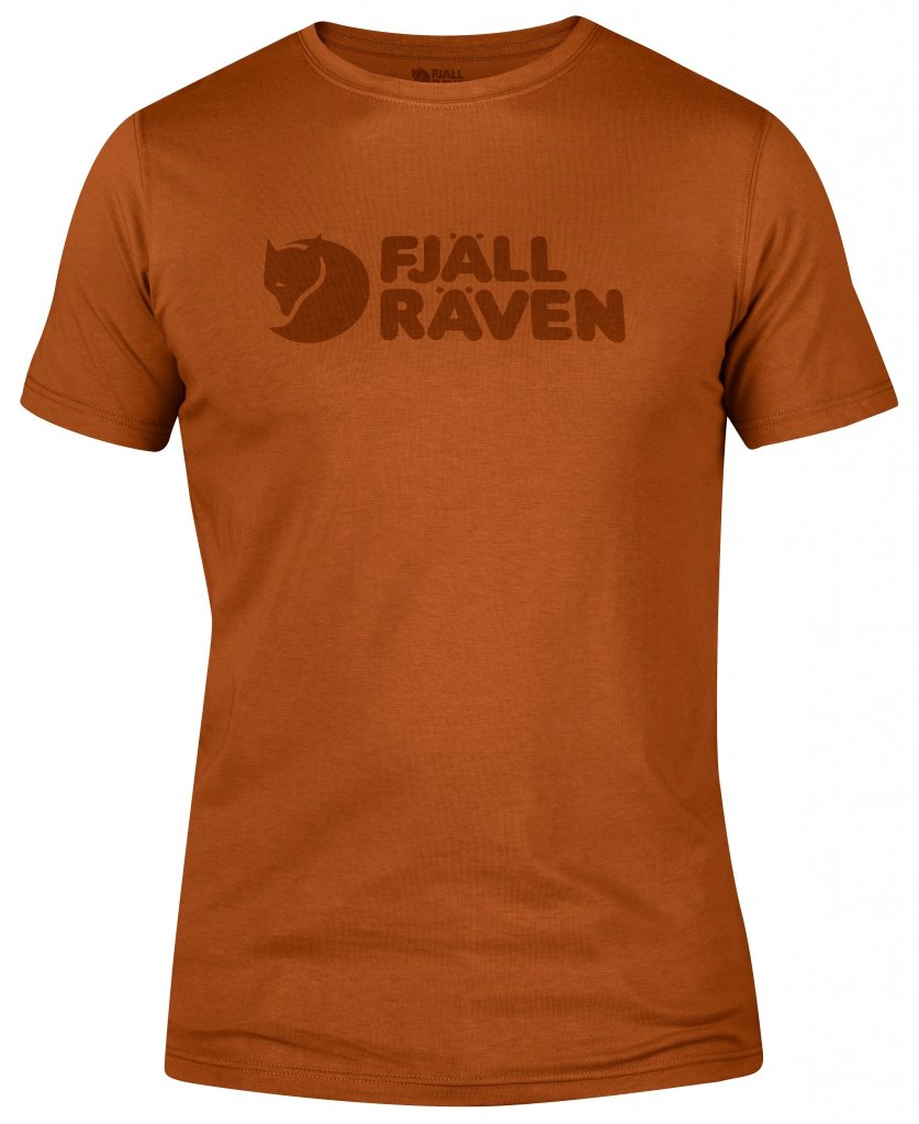 FjallRaven Logo T-shirt Autumn Leaf-30