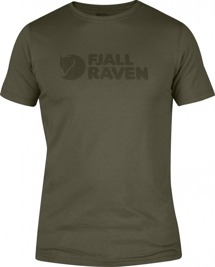 FjallRaven Logo T-shirt Tarmac-30