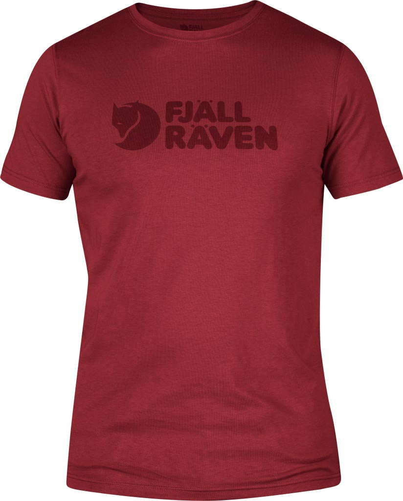 FjallRaven Logo T-shirt Deep Red-30