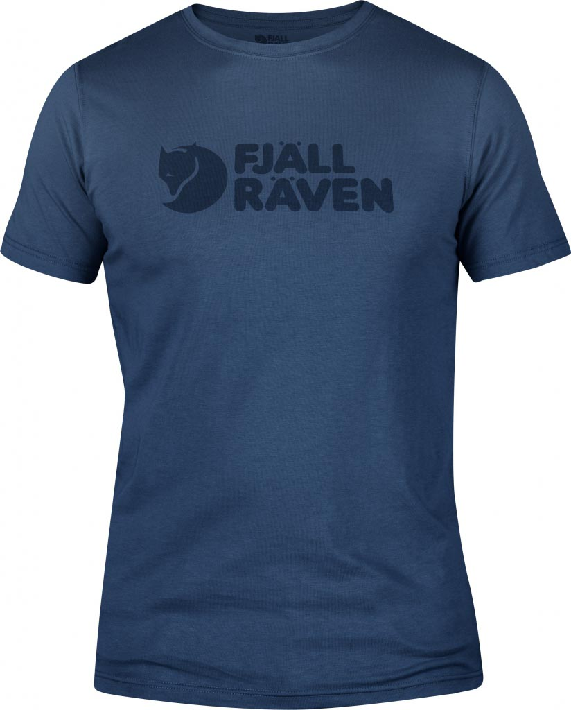 FjallRaven Logo T-shirt Uncle Blue-30
