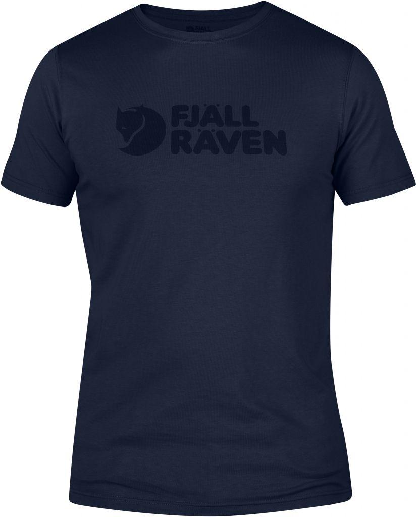 FjallRaven Logo T-shirt Dark Navy-30