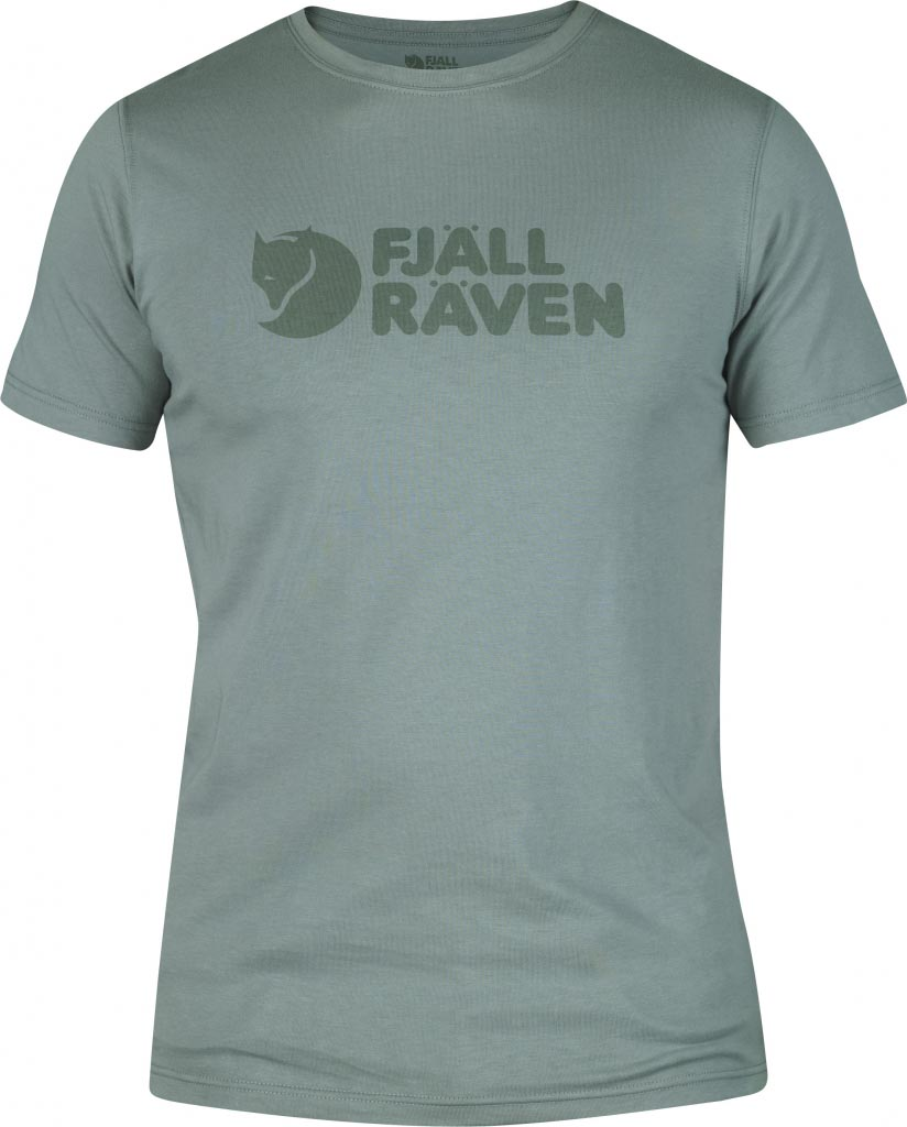 FjallRaven Logo T-shirt Steel Blue-30