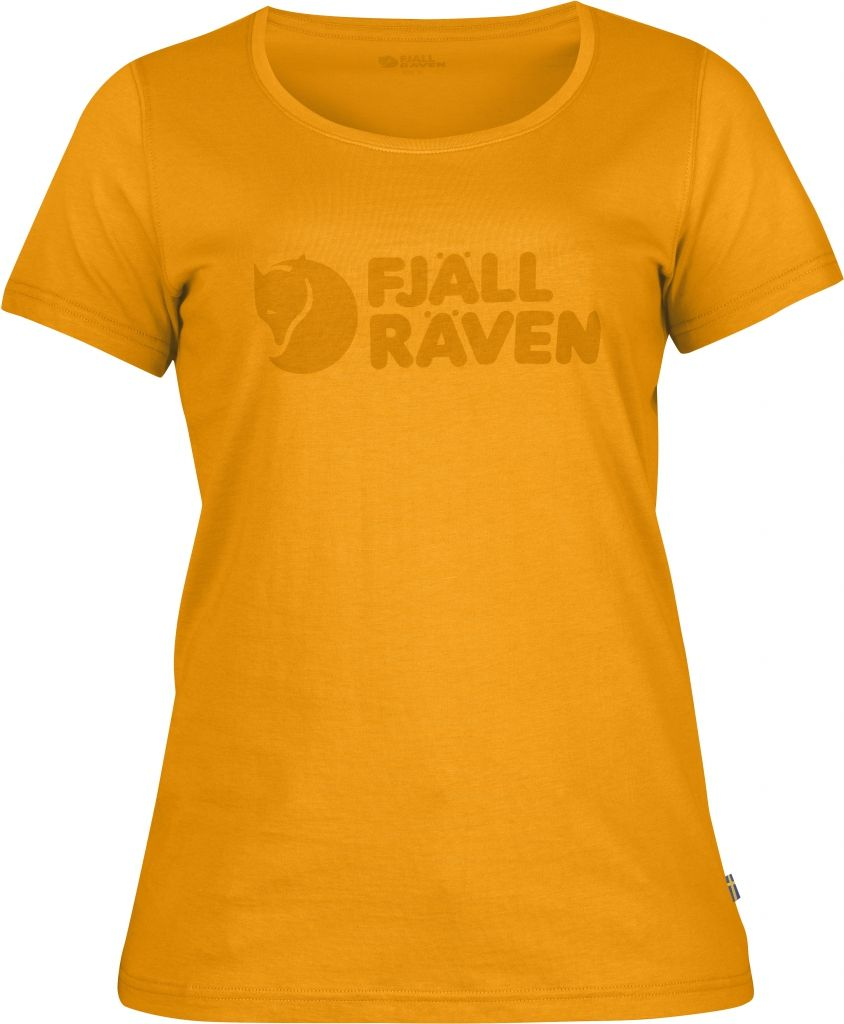 FjallRaven Logo T-Shirt W. Campfire Yellow-30