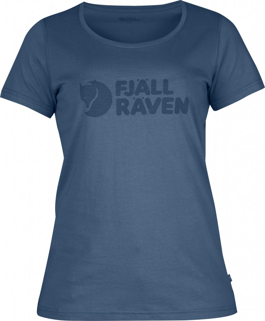 FjallRaven Logo T-Shirt W. Uncle Blue-30