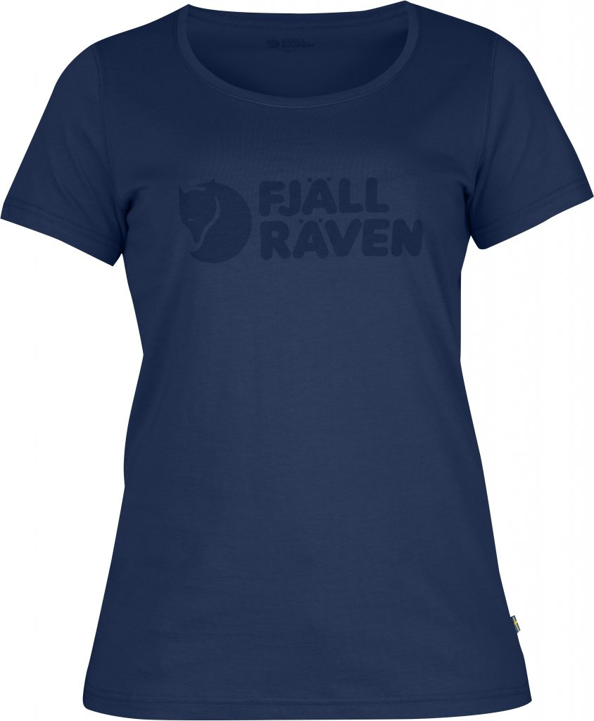 FjallRaven Logo T-Shirt W. Blueberry-30