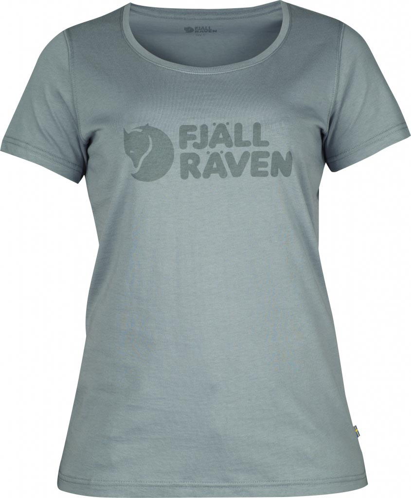 FjallRaven Logo T-Shirt W. Steel Blue-30