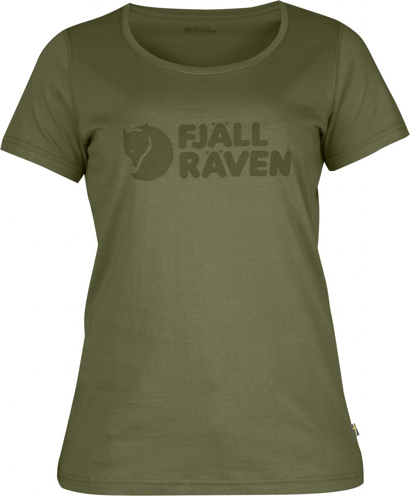 FjallRaven Logo T-Shirt W. Green-30