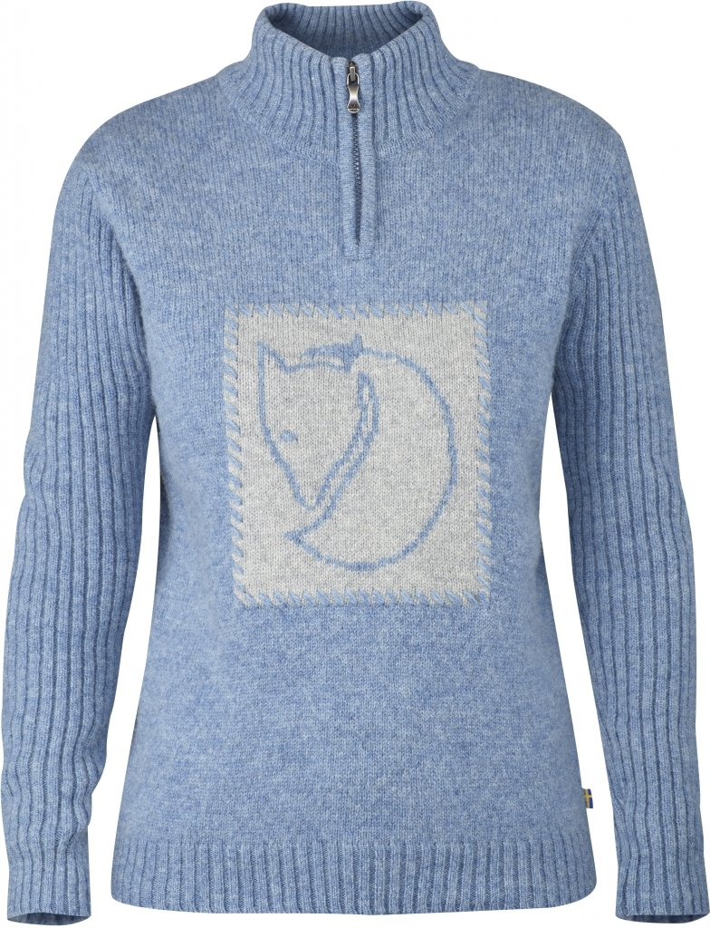 FjallRaven Louise Sweater Dove Blue-30