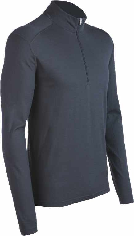 Icebreaker Oasis LS Half Zip Monsoon-30