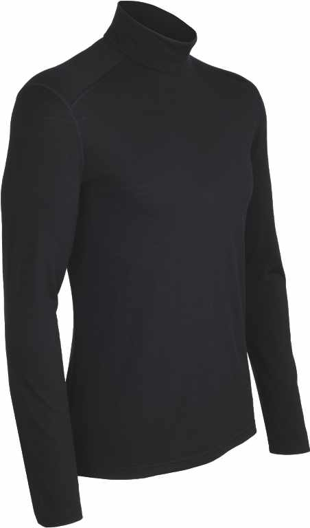 Icebreaker Oasis LS Turtleneck Black-30