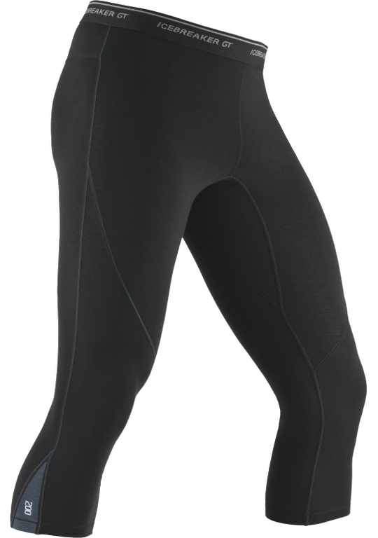 Icebreaker Sprint Legless Black/Monsoon-30