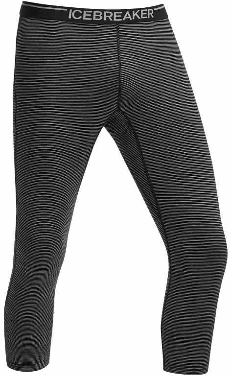 Icebreaker Oasis Legless Stripe Black/Black-30