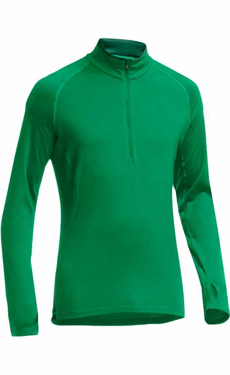 Icebreaker Pursuit LS Half Zip Lucky/Bottle-30