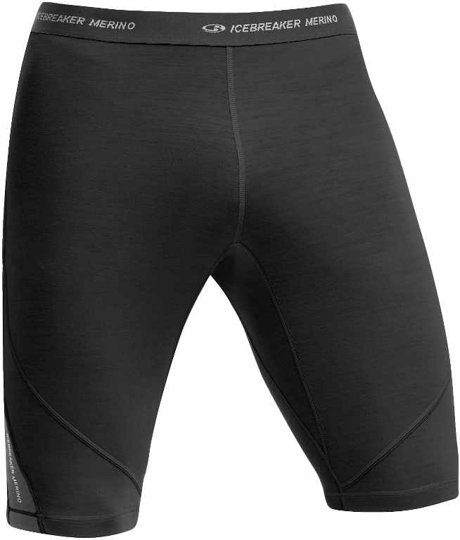 Icebreaker Sprint Shorts Black/Monsoon-30