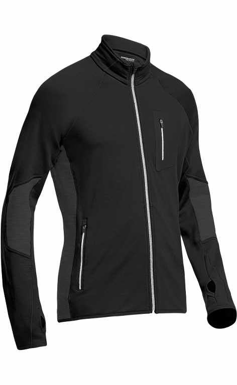 Icebreaker Atom LS Zip Black/Monsoon/Black-30