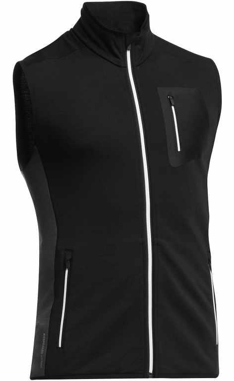 Icebreaker Atom Vest Black/Monsoon/Black-30